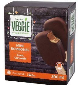 Bombón helado vegano Carrefour