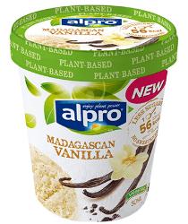 Tarrina helado de vainilla vegano Alpro