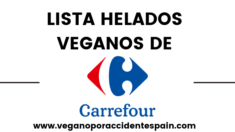 helados veganos sin lactosa carrefour
