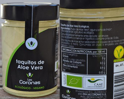 Taquitos de Aloe Vera Las Coronas