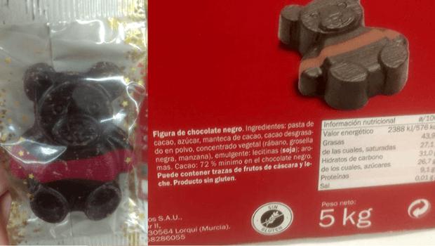 Figuritas de chocolate veganas Lidl