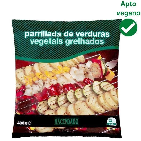 Parrillada de verduras Mercadona