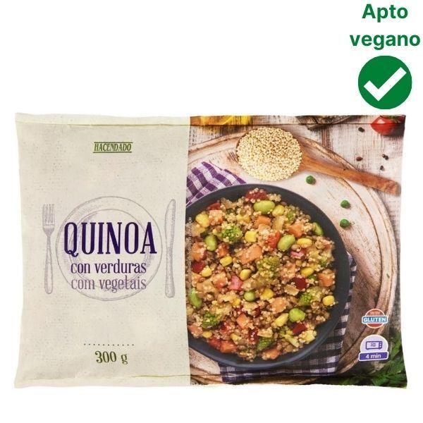 Quinoa con verduras Mercadona