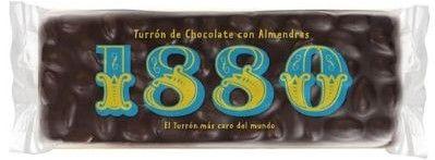 turron chocolate con almendras 1880