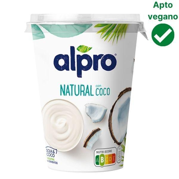 Yogur de coco vegano Mercadona Alpro