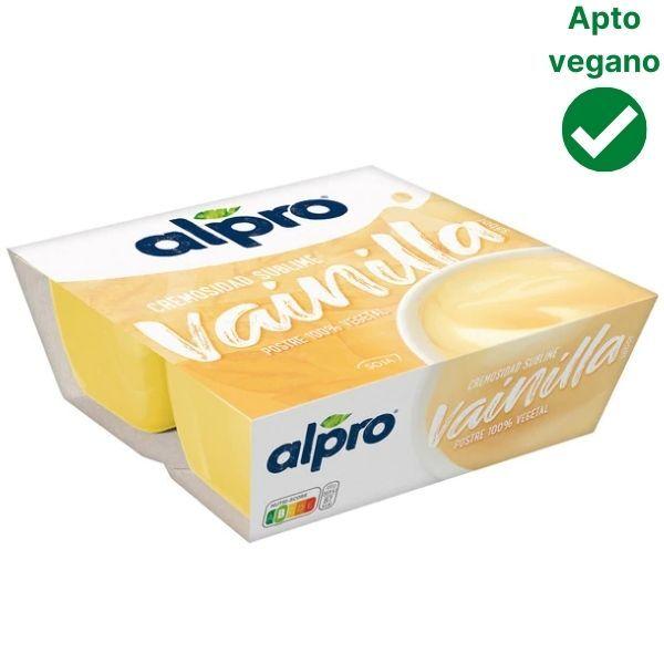 Yogur de vainilla Alpro Mercadona vegano