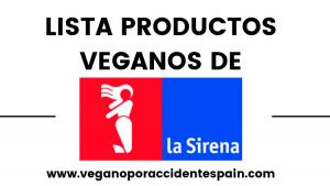 La Sirena productos veganos