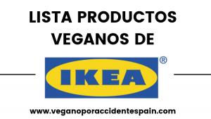 Productos veganos IKEA 2019