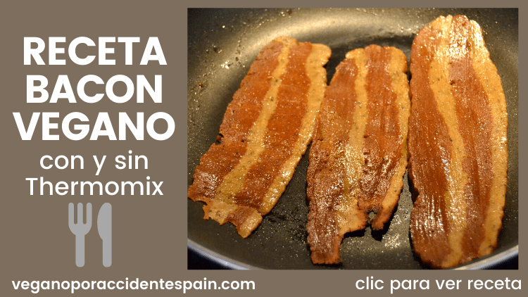 receta bacon vegano thermomix