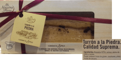 Turrón blando vegano Carrefour