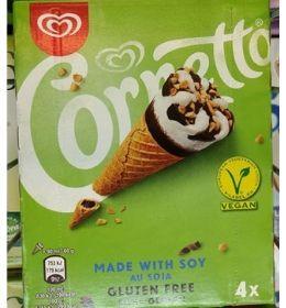 Helado vegano Carrefour