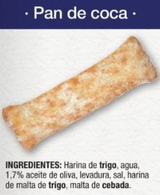 Pan de coca vegano Lidl