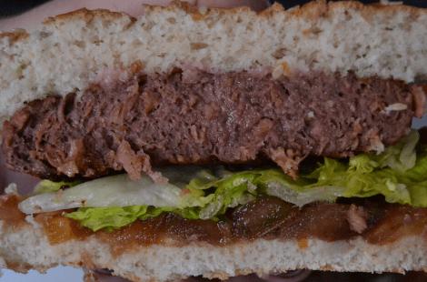 Burger vegana Lidl Next Level Burguer