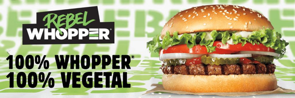 Burger King vegano españa