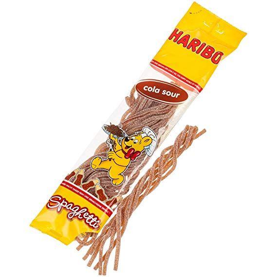 Spaghetti sabor cola Haribo