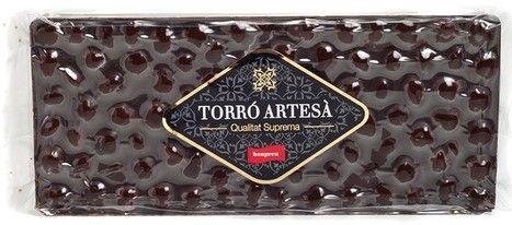 Turrón chocolate y avellana Bonpreu