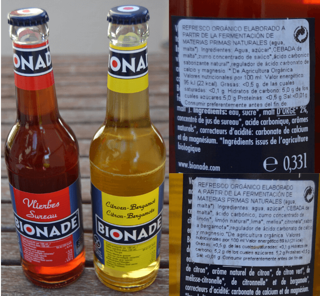 Bionade cerveza orgánica