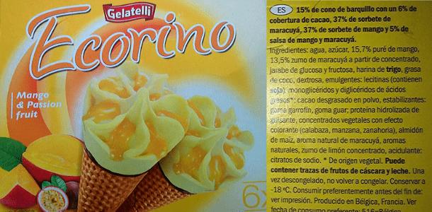 Ecorino sabor mango