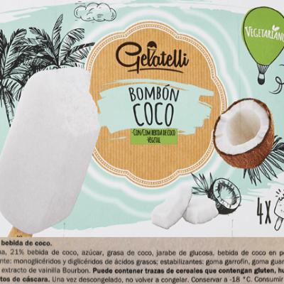 Bombón de coco Lidl (Gelatelli)