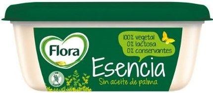 Margarina flora sin aceite de palma vegana