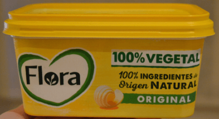 Margarina Flora vegana