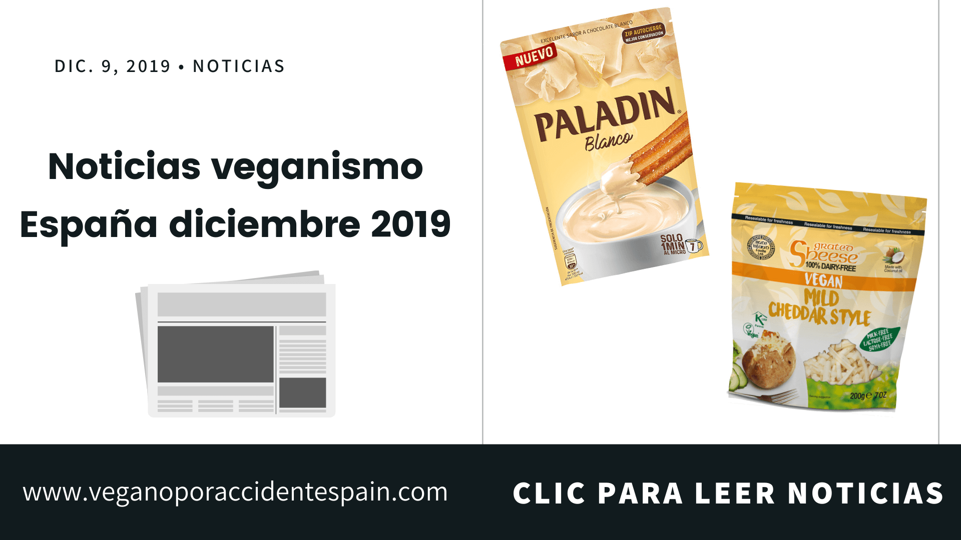 Noticias veganismo España enero 2020: Resumen