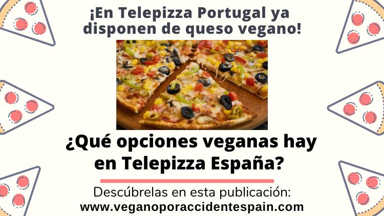 Productos veganos Telepizza