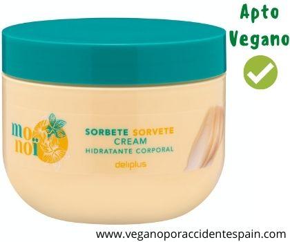 Crema corporal Monoi Mercadona vegana