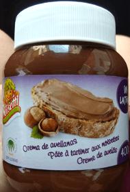 Nutella vegana Carrefour Noisetti