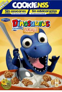 Galletas Dinosaurus veganas