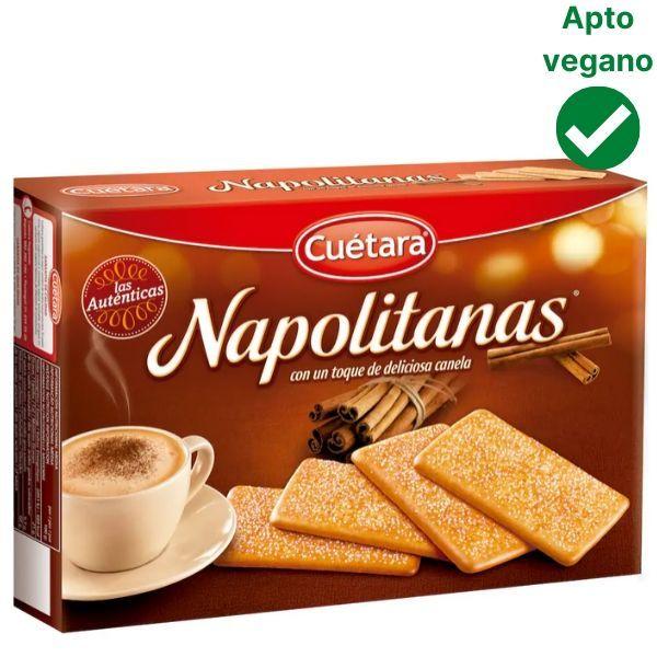 Galletas Napolitanas veganas