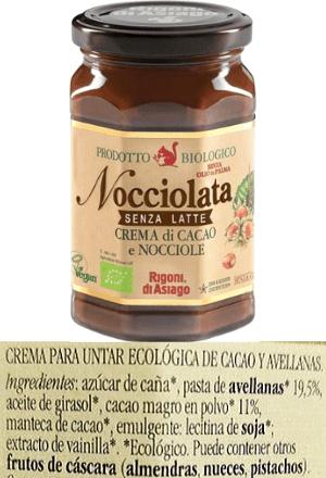 Crema de cacao vegana Carrefour