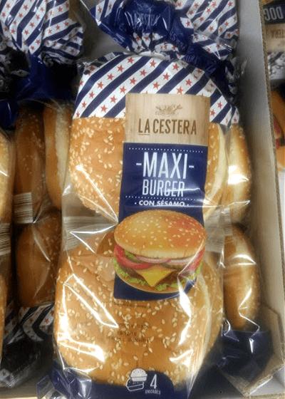 Pan hamburguesa sin lactosa Lidl