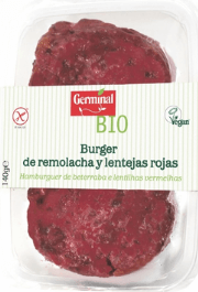 Hamburguesa vegetal Carrefour