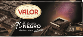 Chocolate sin leche Carrefour