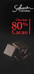 Chocolate sin lactosa Carrefour