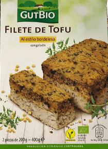 Filete de tofu Aldi