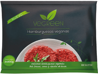 Hamburguesa vegana Carrefour