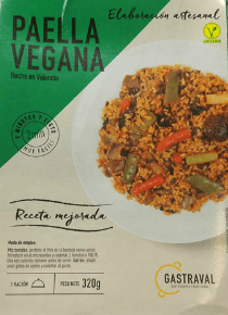 Paella vegana Aldi