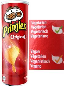 Pringles veganas