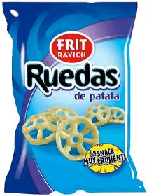 Patatas ruedas veganas