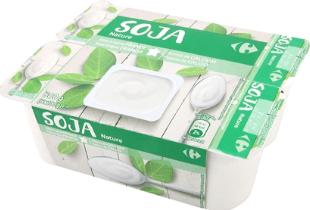Yogur de soja sin azúcar Carrefour