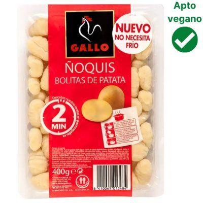 Ñoquis veganos Gallo