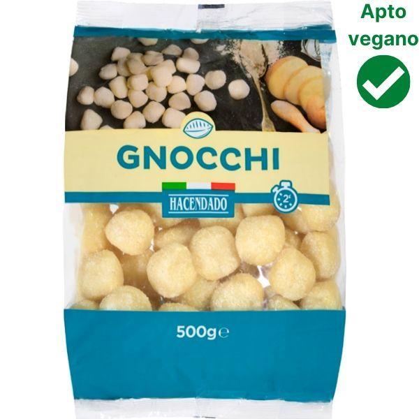 Gnocchi Mercadona veganos