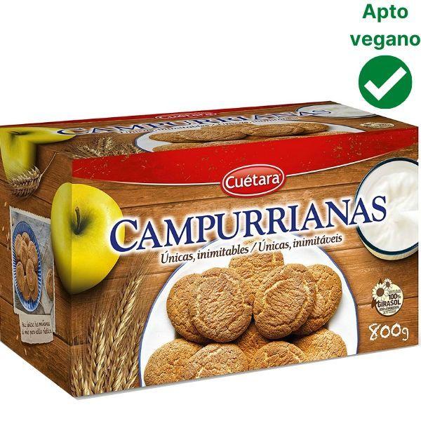 Campurrianas veganas Cuétara