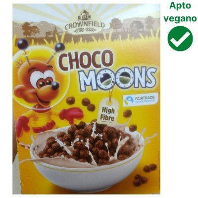 Cereales choco moons Lidl veganos