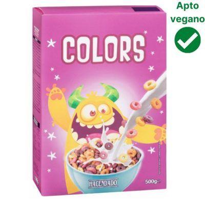 Cereales de colores Hacendado (Mercadona)