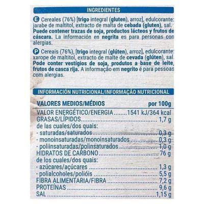 Cereales integrales sin azúcar Mercadona (Hacendado)