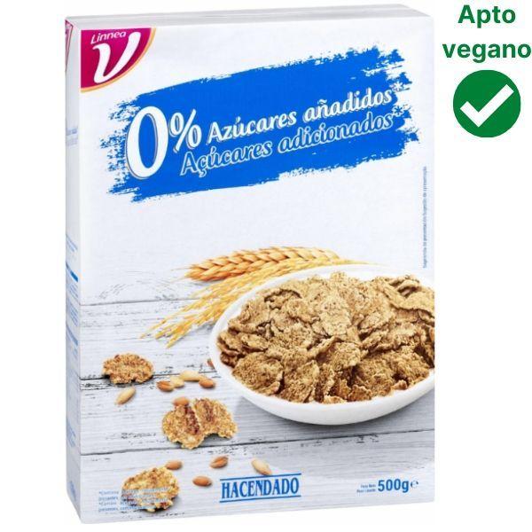 Cereales 0% azúcares Mercadona