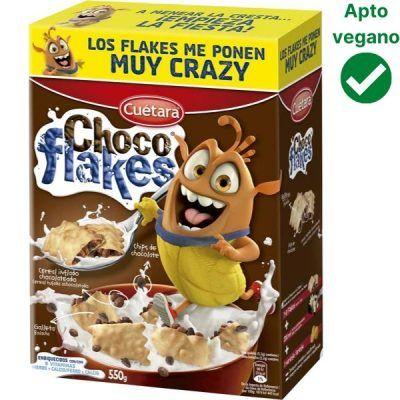 Choco Flakes veganos